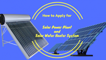 How to Apply for Solar Power Plant and Solar Water Heater System