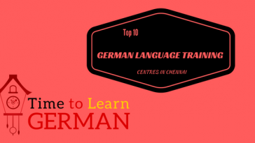 German classes in Chennai