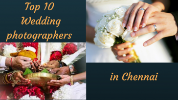 Top 10 Wedding photographers in Chennai