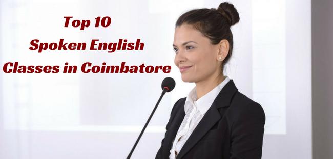 Top 10 Spoken English Classes in Coimbatore