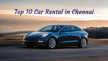 Top 10 Car Rental in Chennai